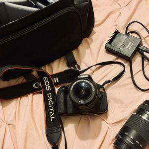 canon t3i camera for Sale in Phoenix, AZ