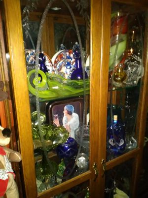 Huge crystal art glass collection 1000 pieces Murano Fenton more for Sale in Las Vegas, NV