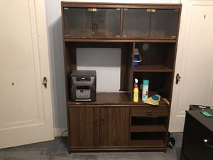 6ft entertainment stand for Sale in Evansville, IN