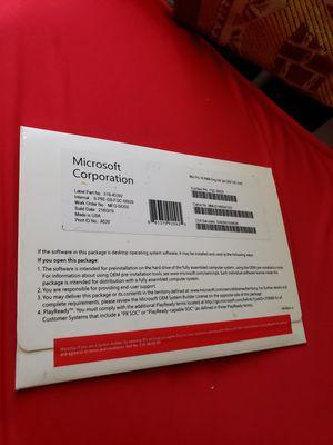 Microsoft Windows 10 Professional 64Bit Eng Intl 1pk DSP OEI DVD (FQC-08929) for Sale in Louisville, KY