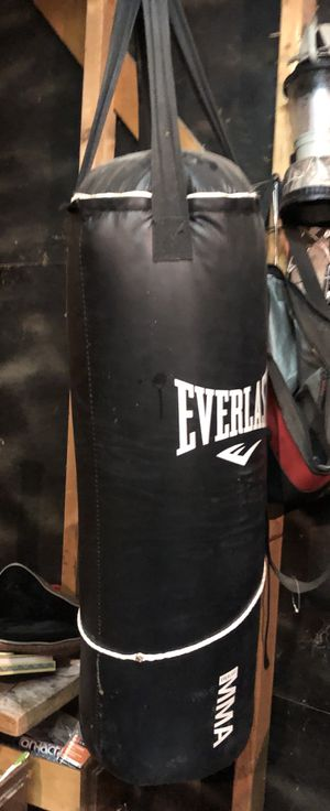 Everlast MMA 95 lb Heavy Punching Bag for Sale in Littleton, CO