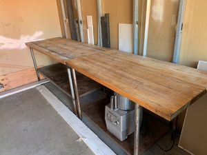 Commercial Wood table x2 for Sale in Fountain Valley, CA