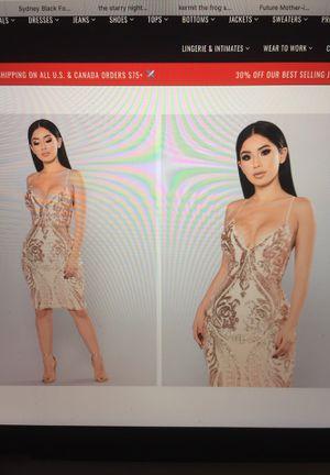 ae4dd1fa0ad Fashion nova Ashe sequin dress for Sale in San Jose