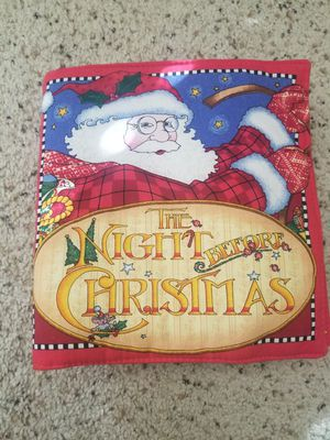 The night before Christmas soft book for Sale in Lancaster, CA