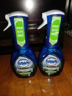 2 dawn powerwash 16oz dishsoap for Sale in MD, US