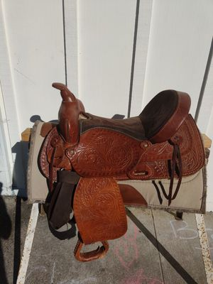 Western saddle for Sale in Capitola, CA