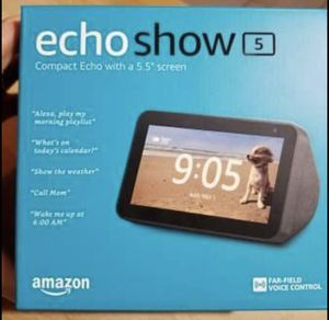 Echo show 5 for Sale in Bloomington, IL