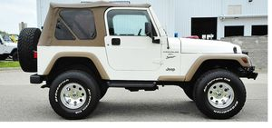 Clean CarFax 2001 Jeep Wrangler All Wheels for Sale in Grand Rapids, MI