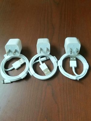 3 brand new original  iphone chargers for Sale in Queens, NY
