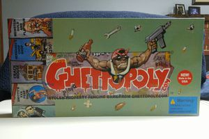 Ghettopoly: Monopoly Parody Board Game for Sale in Annandale, VA