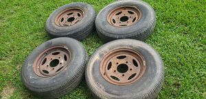 235/80R16 four tires for Sale in Humble, TX