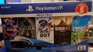 PS4 1TB Jet Black and PS VR combo pack New in Box for Sale in Homestead, FL