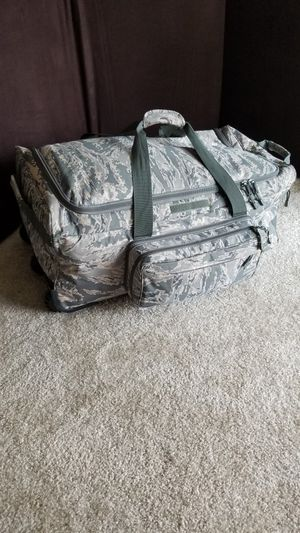 Military Camo ABU Roller Duffle Bag for Sale in Seattle, WA