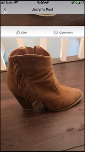 SUEDE BOOTIES size 7 for Sale in Malden, MA