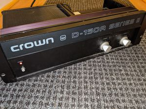 Crown D-150A Series II (untested) for Sale in Silver Spring, MD