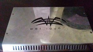 Wet Sound Syn4 4 ch High end Audiophile quality class g/h power amplifier 800 watt RMS The chassis is based off of Arc Audio's KS series amplifiers for Sale in Georgetown, TX