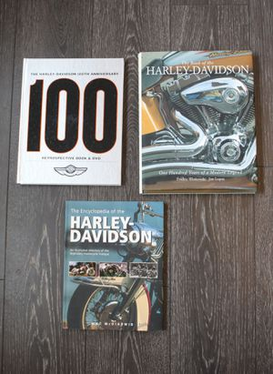 Harley Davidson books for Sale in Knightdale, NC