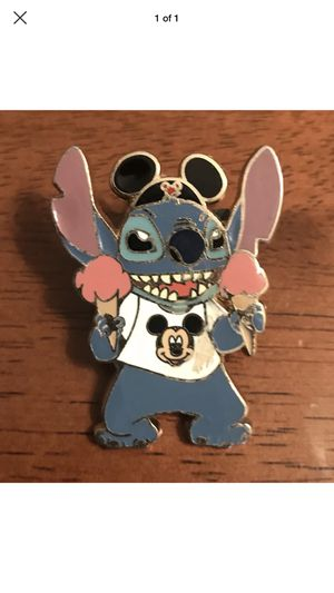 Disney Stitch Mickey Mouse Ears Lilo & Stitch Pin for Sale in Bassett, CA