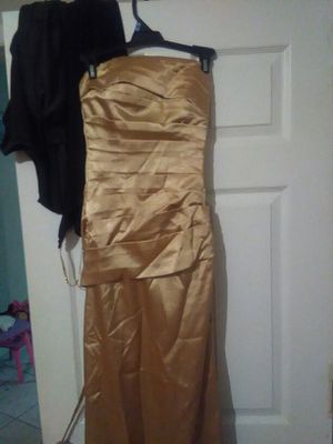 Gold bridesmaid dress for Sale in Tampa, FL