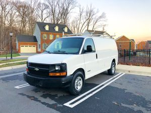 2009 Chevy Express 2500 cargo work van cold AC runs drives Excellent clean inside and out for Sale in North Potomac, MD