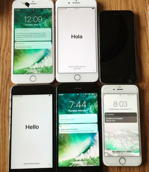 IPhone 6 6s 6 plus for parts 30 pcs for Sale in Glen Ellyn, IL