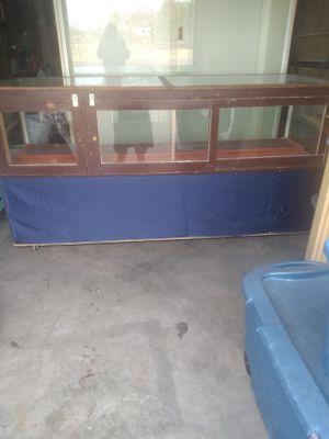 Wood display case for Sale in Pueblo West, CO