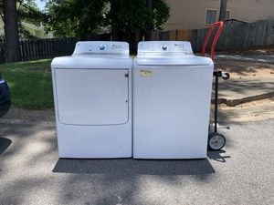 GE high efficiency washer and dryer for Sale in Atlanta, GA