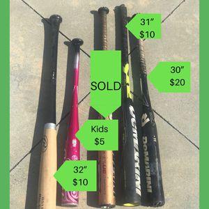 Demarini baseball bats for Sale in Rowland Heights, CA