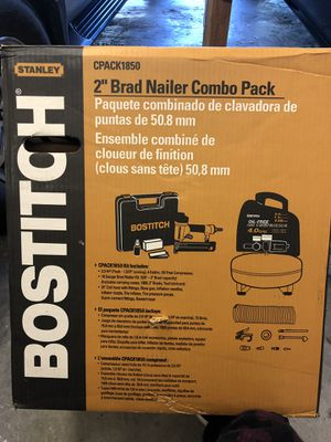 """Bostitch NEW IN BOX 2"""" brad nailer combo kit. Never opened. for Sale in Castro Valley, CA"""