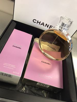 Chanel perfume set w/ Lotion for Sale in Pearland, TX