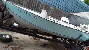 12 ft silver line Boat and 15 horse Johnson with lots of extra....Front a Back anchor systems for working the Lakes and more Fish Box under Center se for Sale in Portland, OR