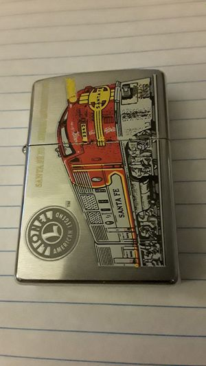 Zippo Santa Fe Lighter Lionel Logo for Sale in Frederick, MD