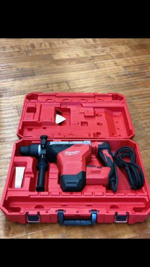 "MILWAUKEE SDS MAX ROTARY HAMMER KIT 1 3\4"" AVS 15AMPS VARIABLE SPEED NEW NUEVO💪👍💪👍💪👍💪 for Sale in Torrance, CA"