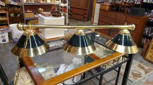 3 light pool table lamp. for Sale in Shelton, WA