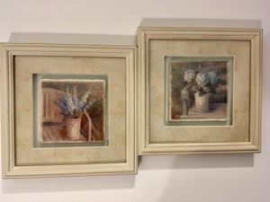 Two Framed Decorative Pictures Both For $7 for Sale in Ocean Shores, WA