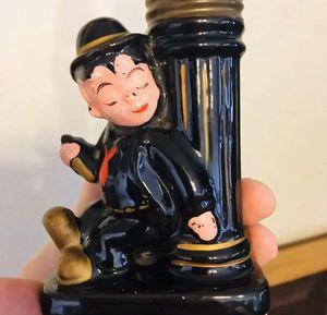 vintage 50s drunk hobo man oil lamp for Sale in Henderson, NV