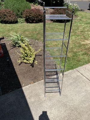 Stainless Steel Metal Storage Rack for Sale in Beaverton, OR