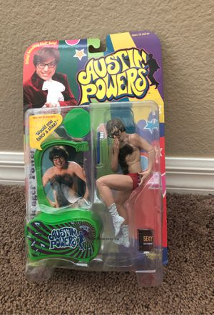 Austin Powers action figure-new for Sale in Moapa, NV
