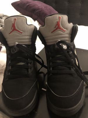 Air Jordan 5 OG 'Black Metallic' Size 8 Men's 6/10 condition for Sale in MONTGOMRY VLG, MD
