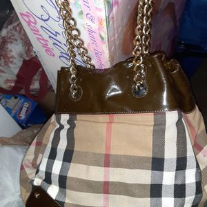 HOBO TYPE BAG BY BURBERRY for Sale in League City, TX