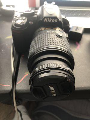 Nikon D3100 DSLE Camera 15-22 MM for Sale in Huntersville, NC