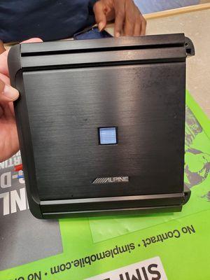 Alpine Amplifier 4 Channel 300 Watts MRV-F300 for Sale in Fresno, CA