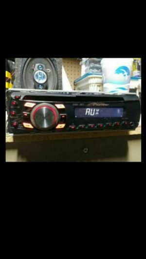 Pioneer DEH-1300MP CD receiver and Auxiliary for Sale in Beech Grove, IN