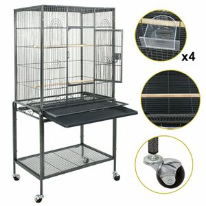 53  Large Bird Pet Cage Large Play Top Parrot Finch Cage Macaw Cockatoo W/ Door for Sale in Lake Elsinore, CA