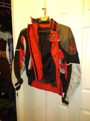 Woman's motorcycle jacket for Sale in Ashburn, VA