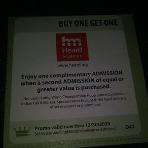 Heard Museum - Free Admission for Sale in Phoenix, AZ