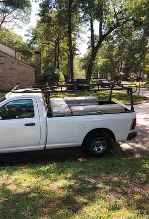 Steel Truck Ladder Rack 1000 pound capacity for Sale in Humble, TX