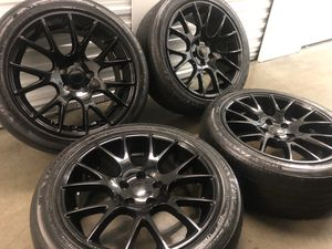 "Dodge Hellcat wheels rims tires Rines 20"" Durango for Sale in Lawndale, CA"