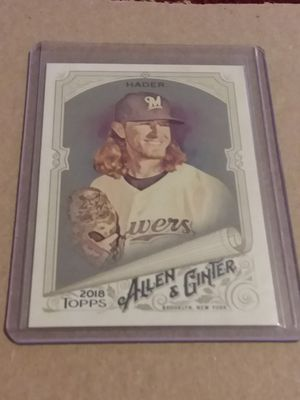 HOT! JOSH HADER 2018 Rookie RC Baseball Card-High # SP-LOOK! for Sale in New Kensington, PA
