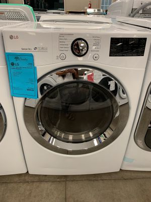 1 YR Warranty! LG Electric Dryer Front Load Large Capacity #2107 for Sale in Chandler, AZ